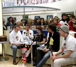 """Autorenlesunge von """"Paddy, der kleine Pirat"""" auf der Frankfurter Buchmesse"""