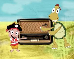 Paddy im Radio