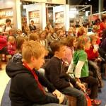 Paddy`s Publikum auf der Buchmesse in Frankfurt
